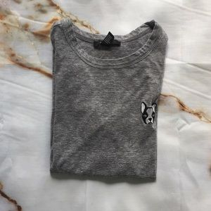 FOREVER 21 | GREY COTTON T-SHIRT